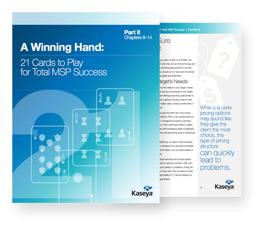 A Winning Hand: 21 Cards to Play for Total MSP Success