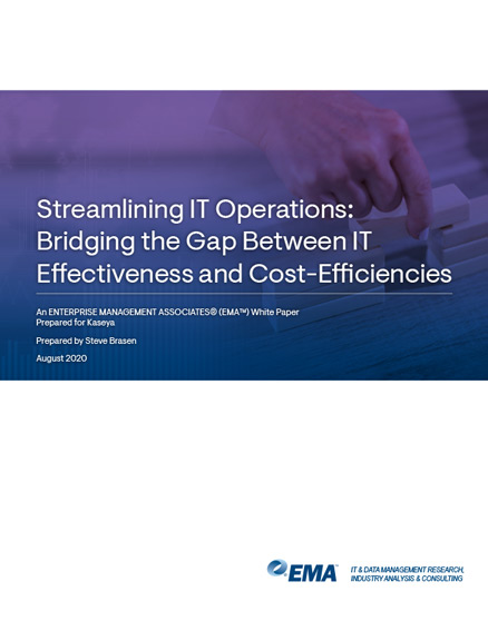 Streamlining It Operations Whitepaper Preview